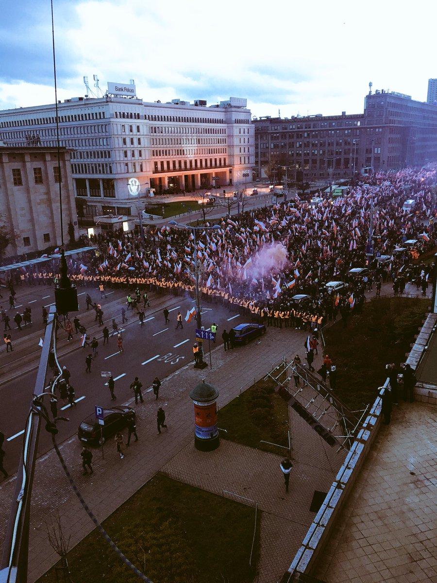 Polacy obchodzili Narodowe Święto Niepodległości. Opis i zdjęcia