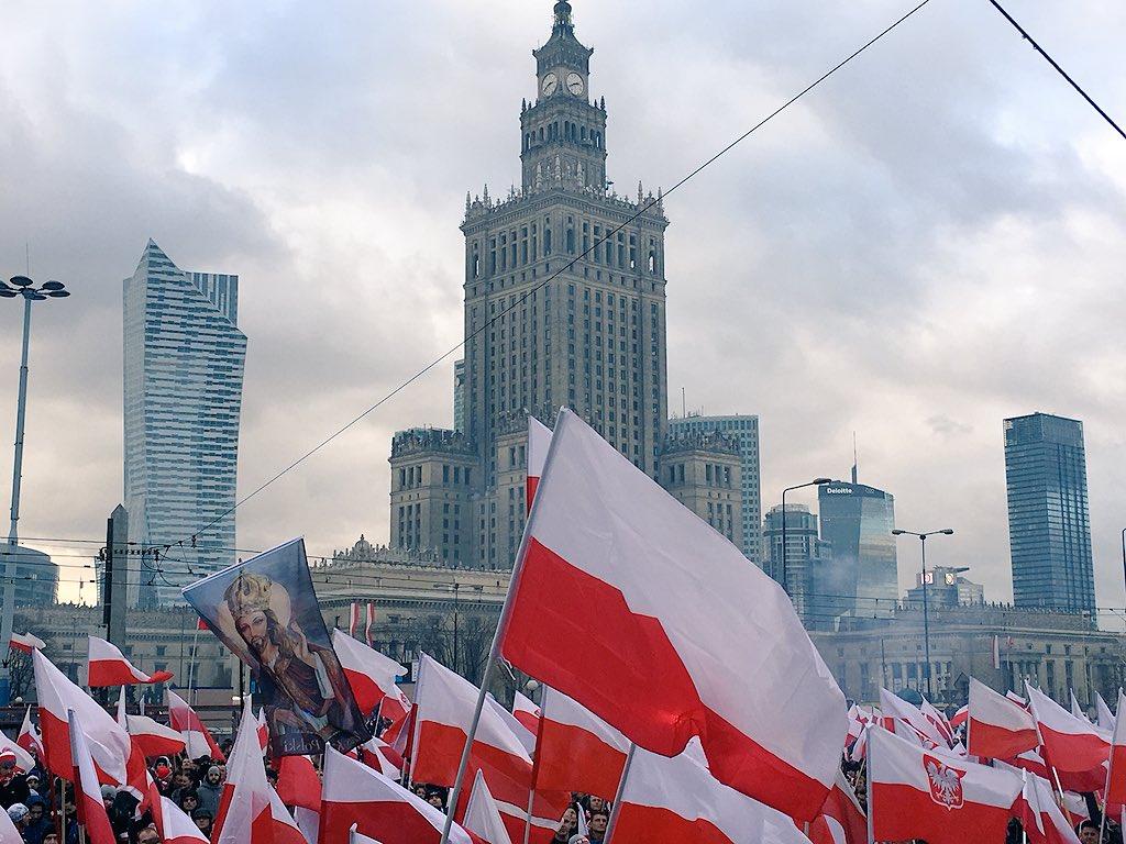 Marsz Niepodległości przeszedł ulicami Warszawy. A jak obchodzono Święto Niepodległości w innych miejscach Polski?