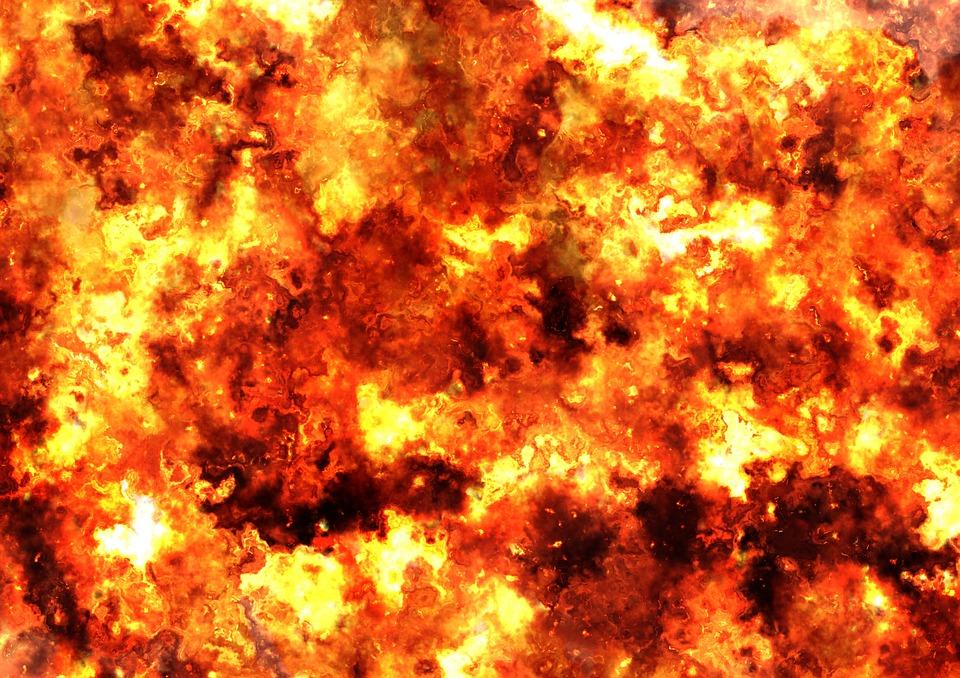 Kolejny pożar wysypiska śmieci! Tym razem koło Mogilna