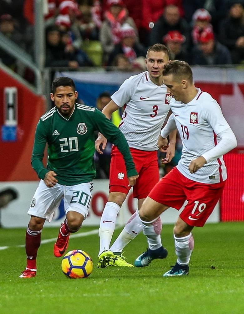 Zmiennicy o bramkę gorsi od Meksyku. Reprezentacja Polski kończy rok porażką