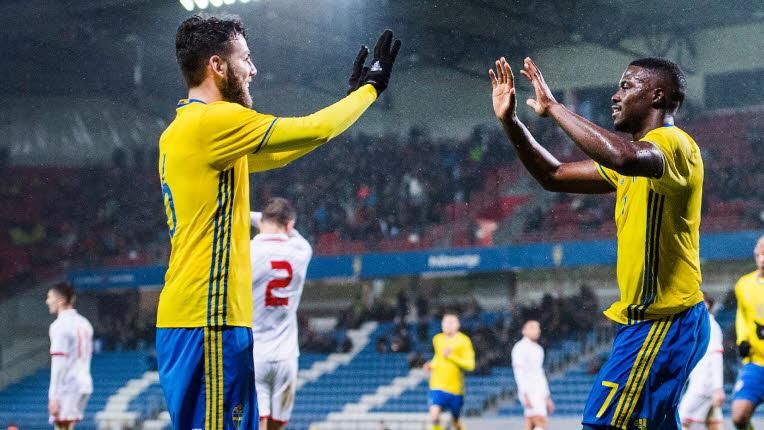 Szwedzi cieszą się z awansu na Mistrzostwa Świata w Rosji