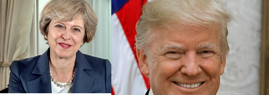 Twitterowa wojna Theresy May i Donalda Trumpa