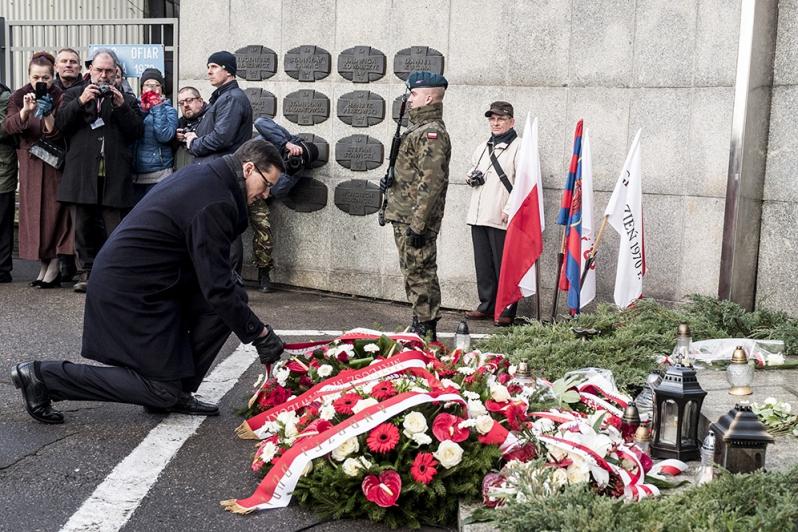 Premier Morawiecki: W grudniu 1970 roku komunistyczna władza pokazała prawdziwą twarz