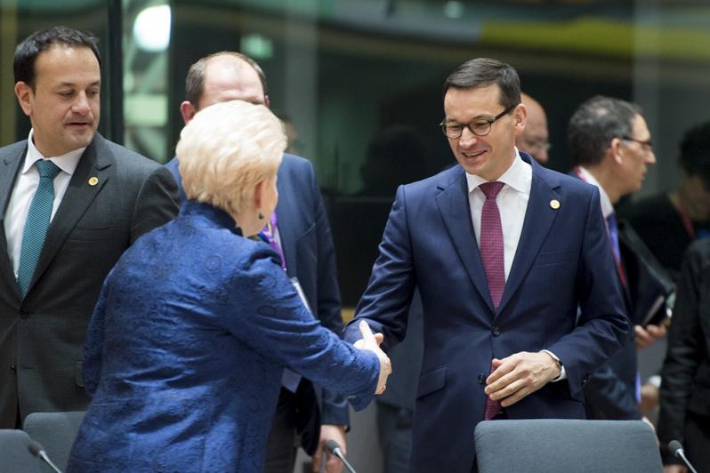Morawiecki w Brukseli o reformie sądownictwa