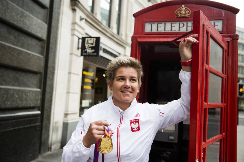 Dwukrotna mistrzyni olimpijska w rzucie młotem Anita Włodarczyk zmieniła barwy klubowe