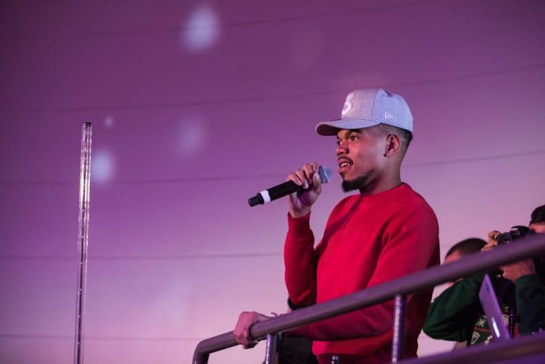 Chance the Rapper zorganizował charytatywną, świąteczną zabawę w Field Museum