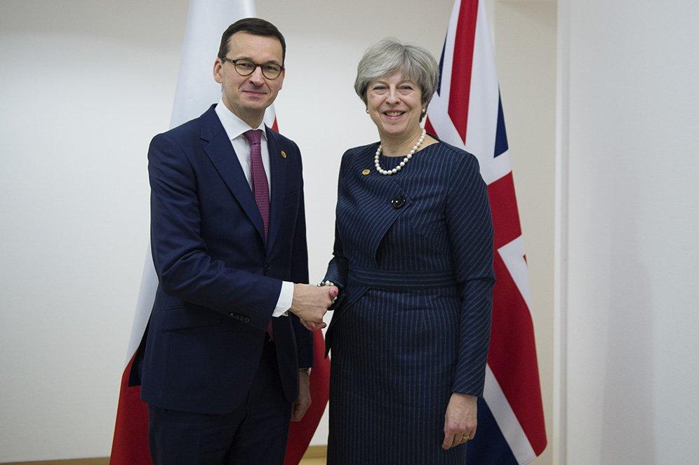 May nie spodziewa się przełomu na szczycie UE w sprawie brexitu. Morawiecki: Polska stara się łagodzić stanowiska w UE ws brexitu