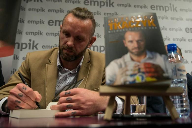 Grzegorz Tkaczyk: Jestem w stu procentach zadowolony z książki o sobie