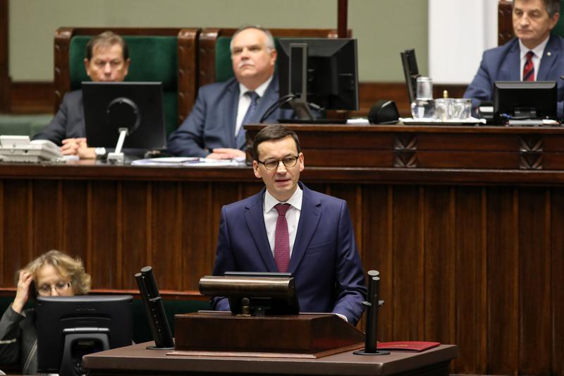 Premier przemawiał w ramach wniosku o wotum zaufania: Czy powinniśmy rządzić w interesie wszystkich Polaków?