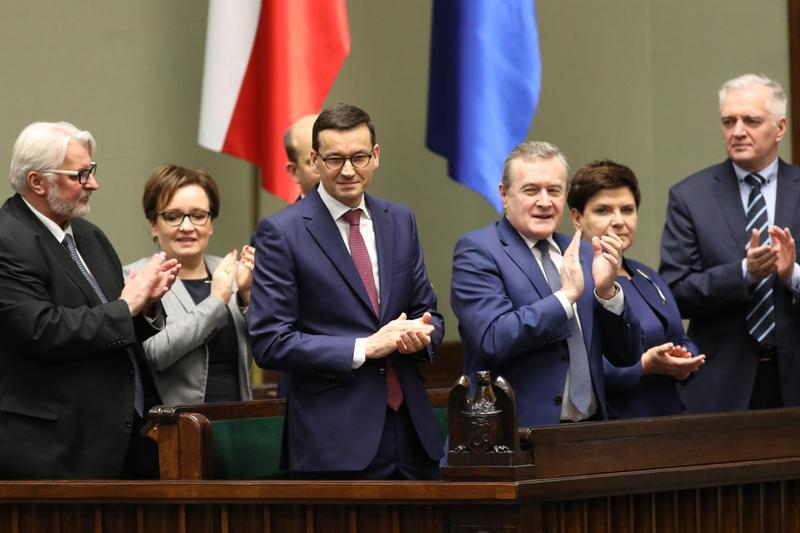 Sejm wyraził wotum zaufania wobec rządu Mateusza Morawieckiego