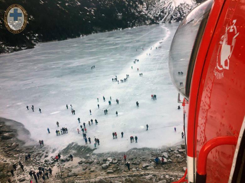 Tatry: W słowackich górach zginął polski turysta. Warunki bardzo niebezpieczne
