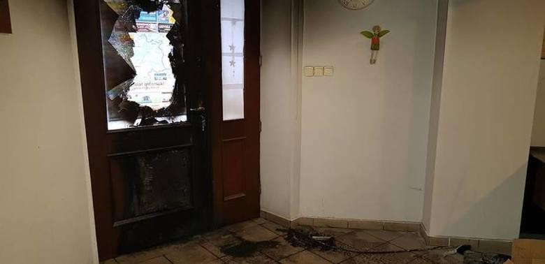 Mężczyzna podejrzany o podpalenie biura Beaty Kempy zatrzymany