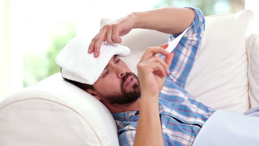 Męska grypa to jednak nie mit