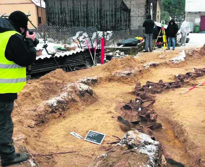 Podlaskie: IPN ekshumował ciała siedmiu ofiar hitlerowców