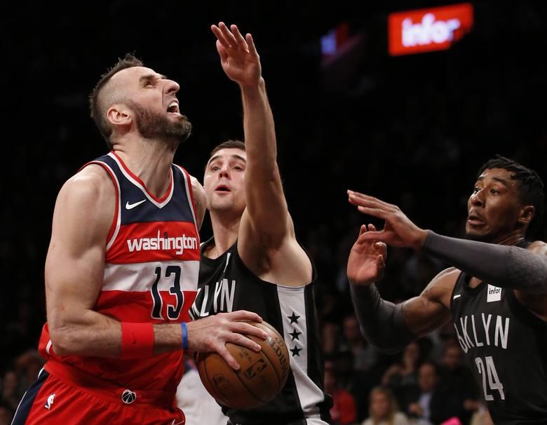 NBA. Washington Wizards znowu przegrali, Marcin Gortat rzucił siedem punktów