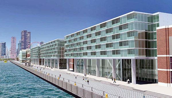 W przyszłym roku rozpocznie się budowa hotelu na Navy Pier