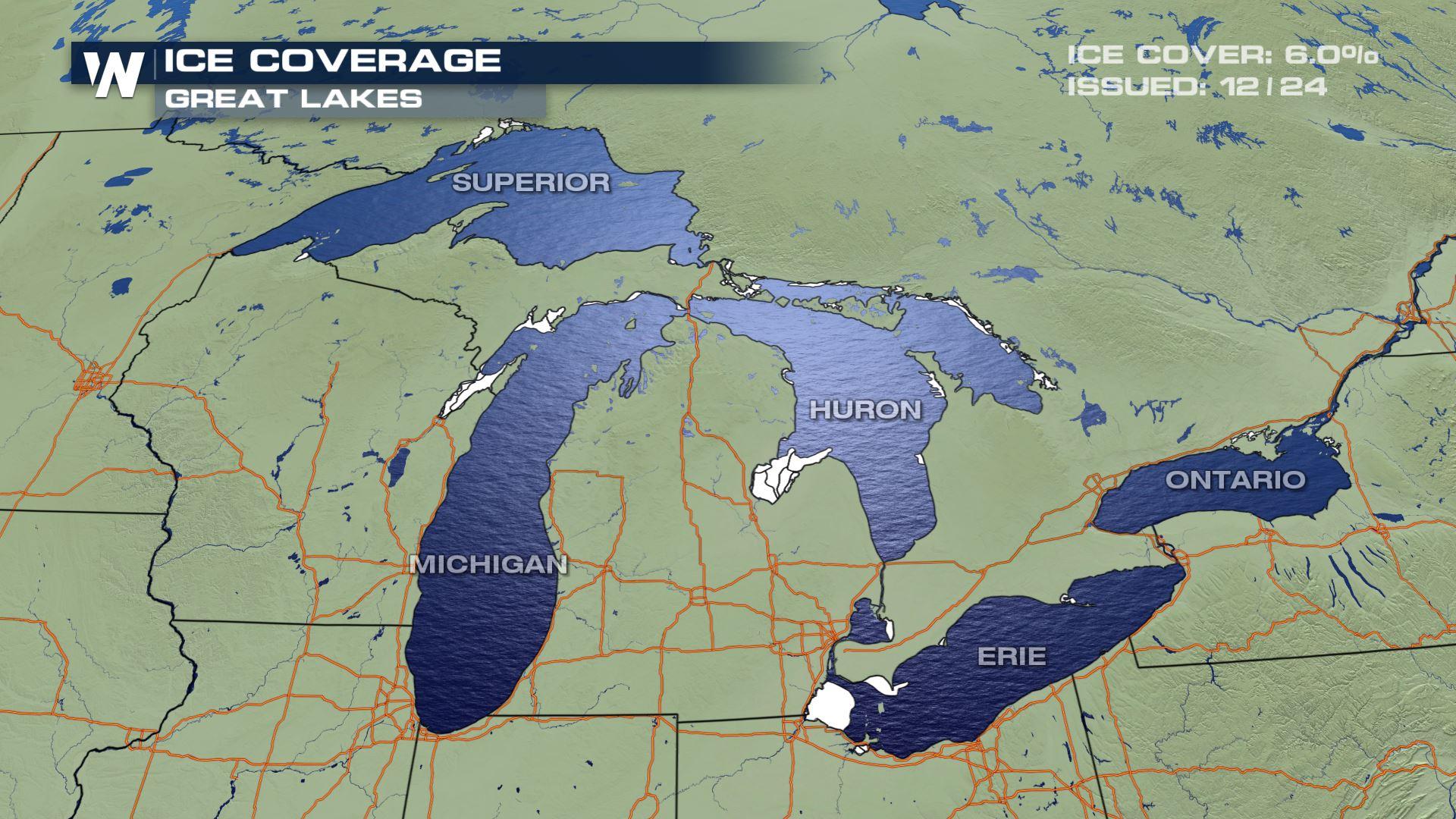 Naukowcy ostrzegają: W rejonie Wielkich Jezior wzrasta temperatura