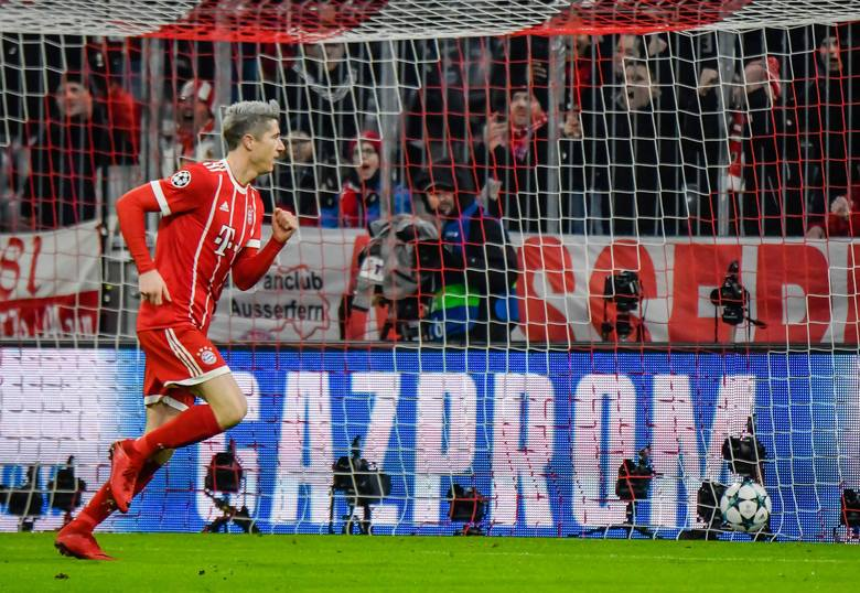 Liga Mistrzów. Bayern odegrał się na PSG. 50-tka Roberta Lewandowskiego