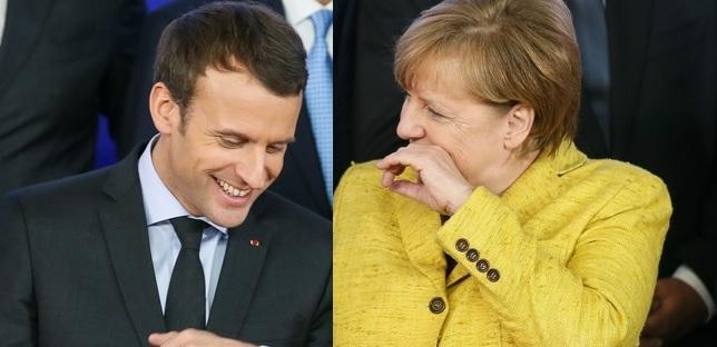 Merkel i Macron żądają przywrócenia swobodnej żeglugi przez Cieśninę Kerczeńską