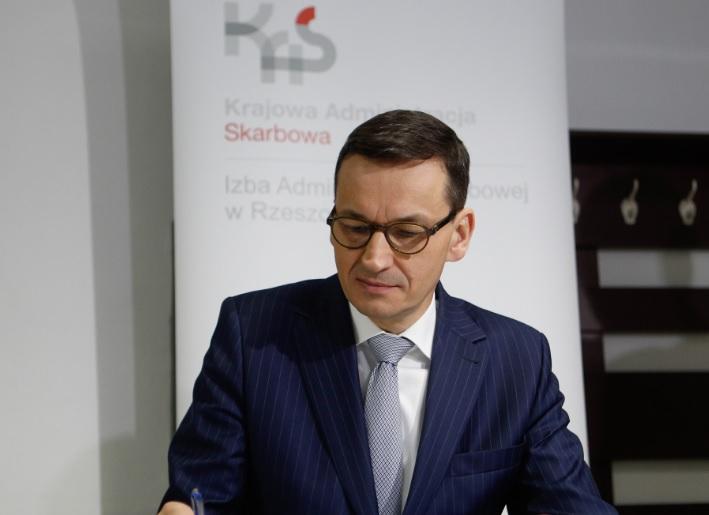 """M. Morawiecki: Polacy, kupujcie polskie obligacje. """"Przynajmniej odsetki trafiają do naszych domowych budżetów"""""""