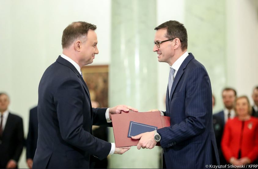 Rząd Mateusza Morawieckiego powołany! Ministrowie zachowali stanowiska