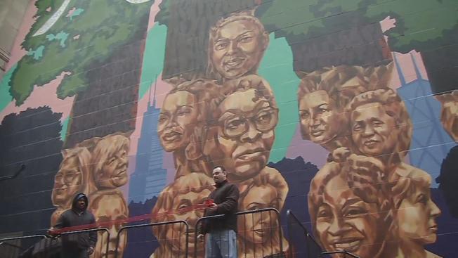 Odsłonięto mural honorujący kobiety związane z Wietrznym Miastem