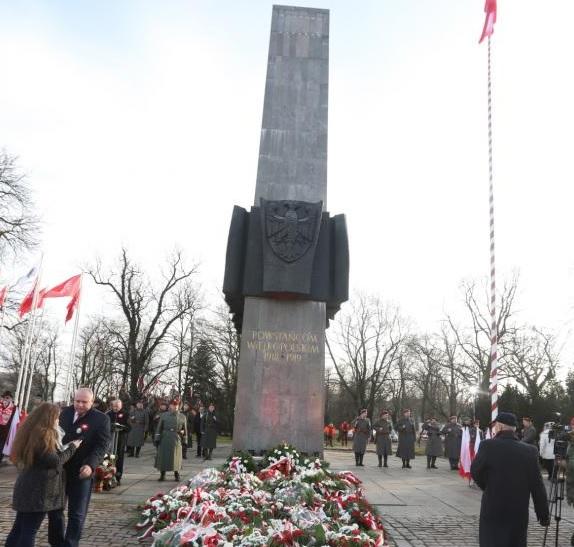 Poznań: Uroczystości 99-lecia wybuchu Powstania Wielkopolskiego
