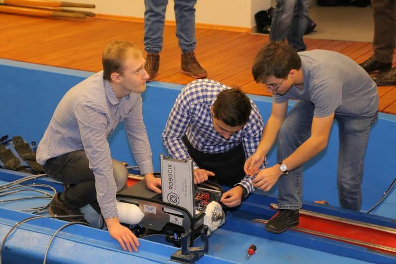 Wrocław: Podwodny robot Politechniki Wrocławskiej na podbój Ameryki
