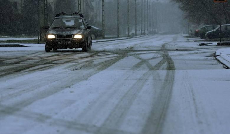 UWAGA kierowcy!IMGW ostrzega: Będzie lód na drogach