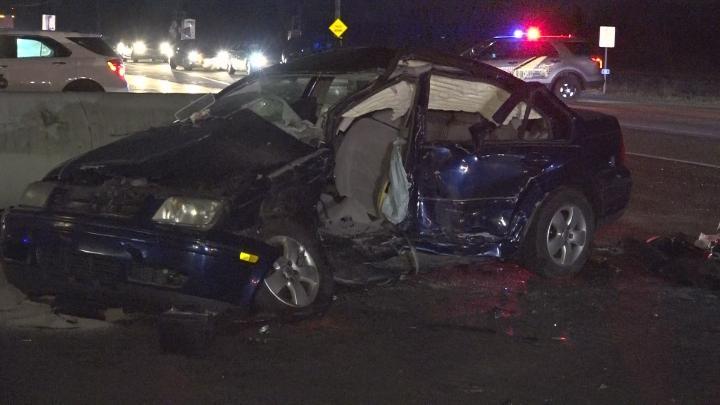 Wypadek na Lake Shore Drive. Pięć osób rannych