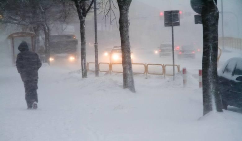 IMGW ostrzega przed zamiecią śnieżną i wichurami na Śląsku. Będzie groźnie!