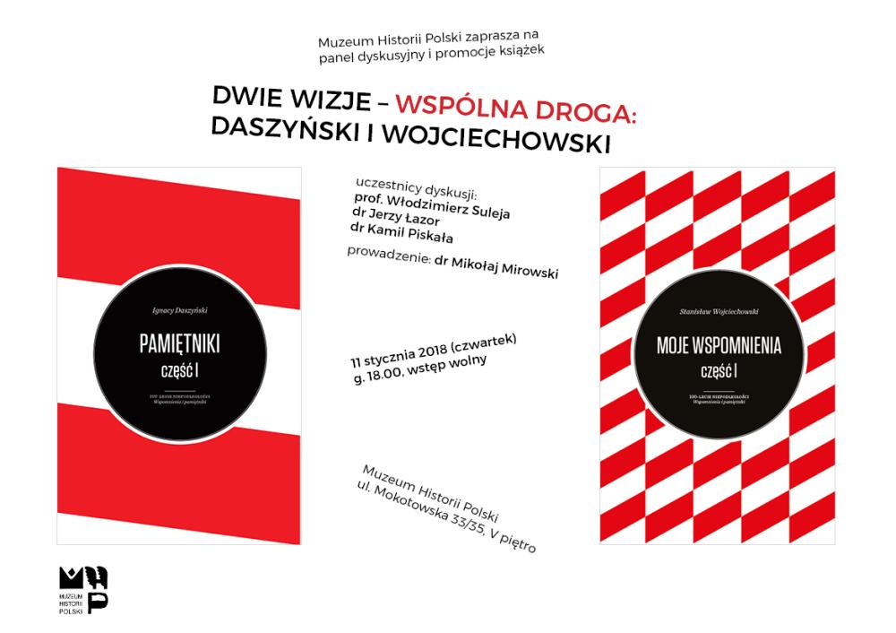 Muzeum Historii Polski: Nowe książki z serii 100-lecie niepodległości