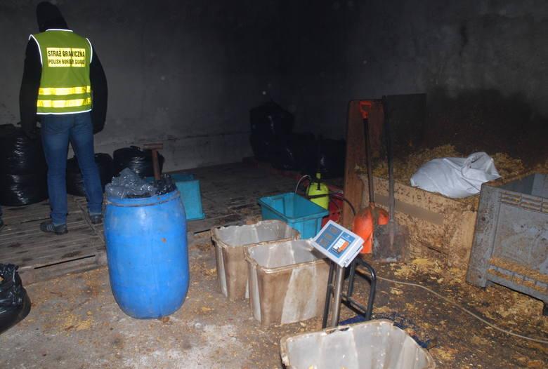 Strażnicy graniczni z Ustki przejęli tytoń za pół miliona