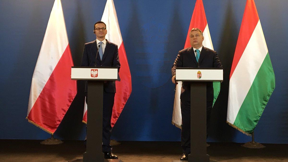 """Węgry. Po spotkaniu premierów Polski i Węgier: """"To my jesteśmy motorem Wspólnoty"""""""