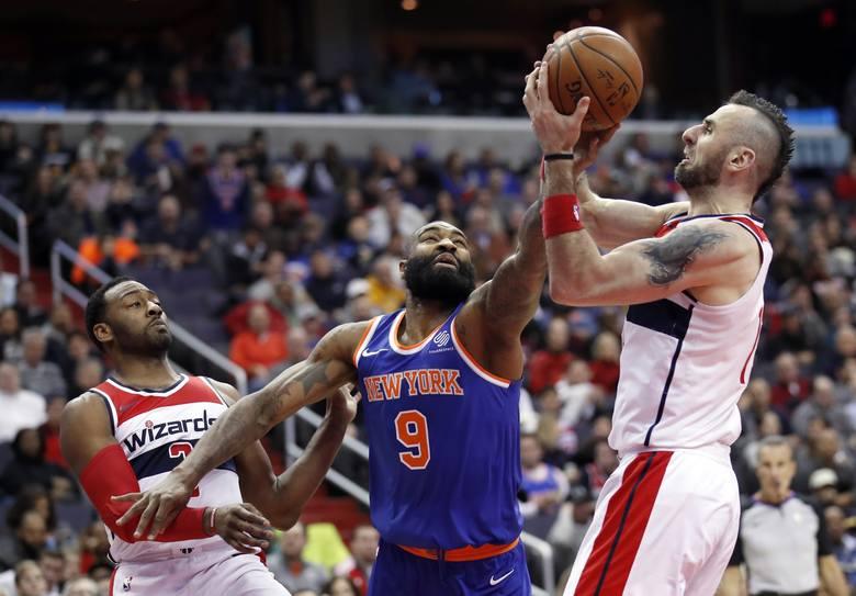 Przyzwoity mecz Marcina Gortata, ale Washington Wizards i tak przegrali z Utah Jazz