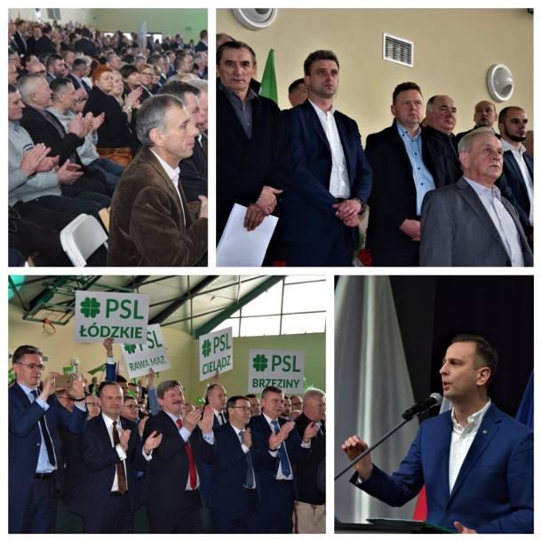 Ludowcy zaprezentowali wyborczą broń. W Kraśniku zorganizowali krajową konwencję samorządową