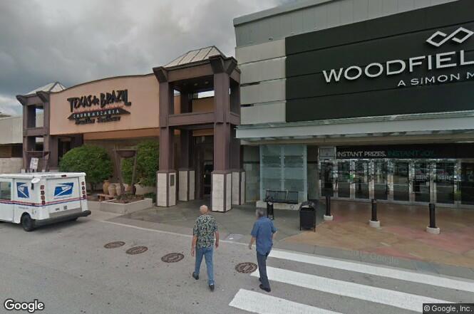 Przed Woodfield Mall pojawią się betonowe bariery