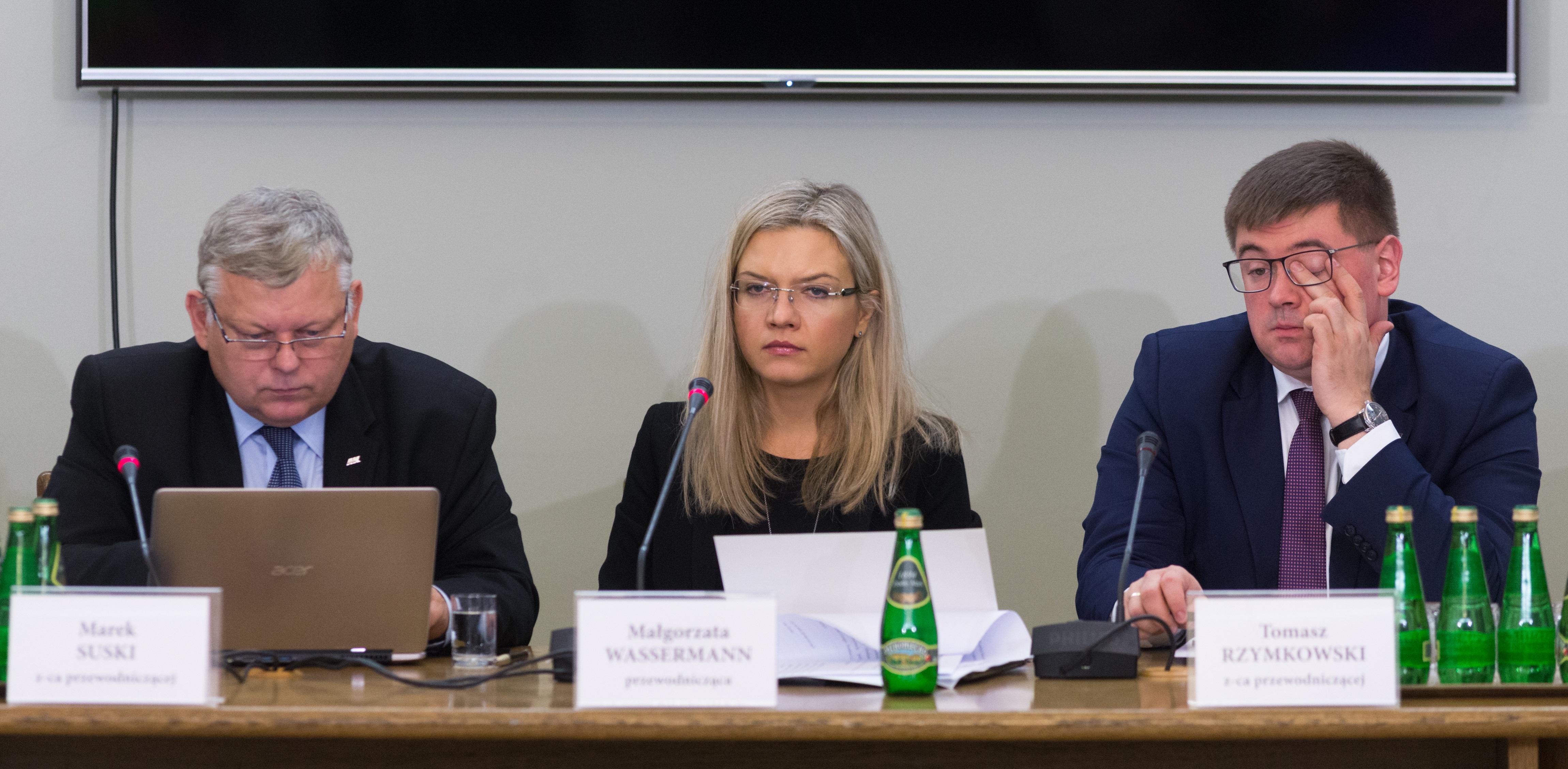 Amber Gold. Wassermann zapewnia, że będą zawiadomienia do prokuratury ws. zaniechań skarbówki