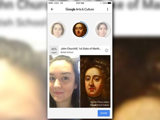 Sprawdź czy wyglądasz jak znany obraz przy pomocy aplikacji Google Arts & Culture