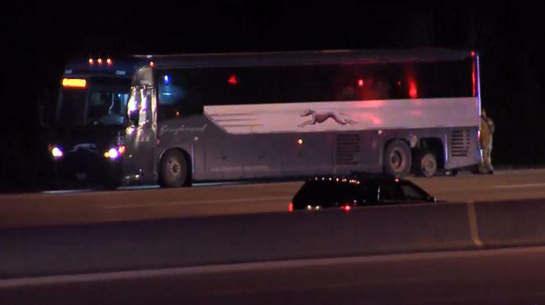 Aresztowano uzbrojonego pasażera autobusu Greyhound
