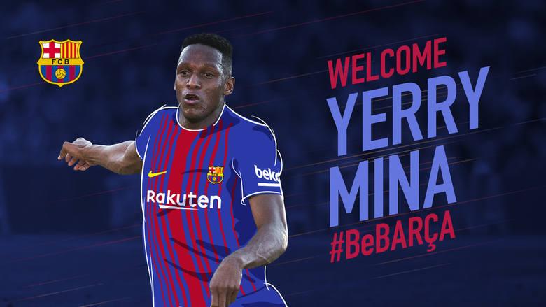 Yerry Mina zawodnikiem FC Barcelony. To kolumbijski środkowy obrońca