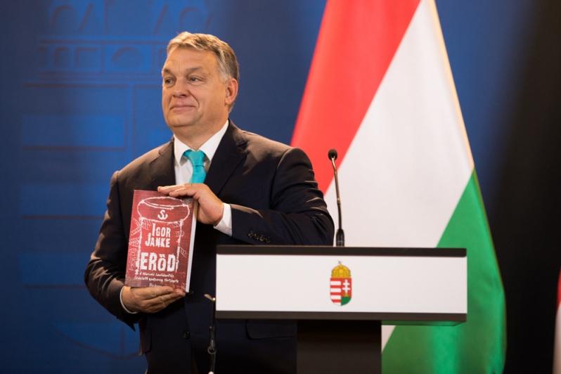 Orban w TVP: Węgry stają za Polską