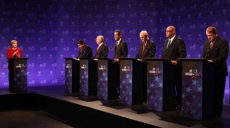 Telewizyjna debata demokratycznych kandydatów na gubernatora Illinois