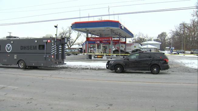 Aresztowano mężczyznę podejrzanego o zamordowanie pracownika stacji benzynowej w Dolton