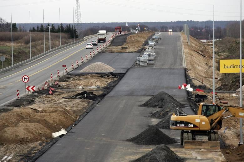 Dolny Śląsk: Tak powstaje droga S3 z Wrocławia nad morze ZOBACZ FOTO