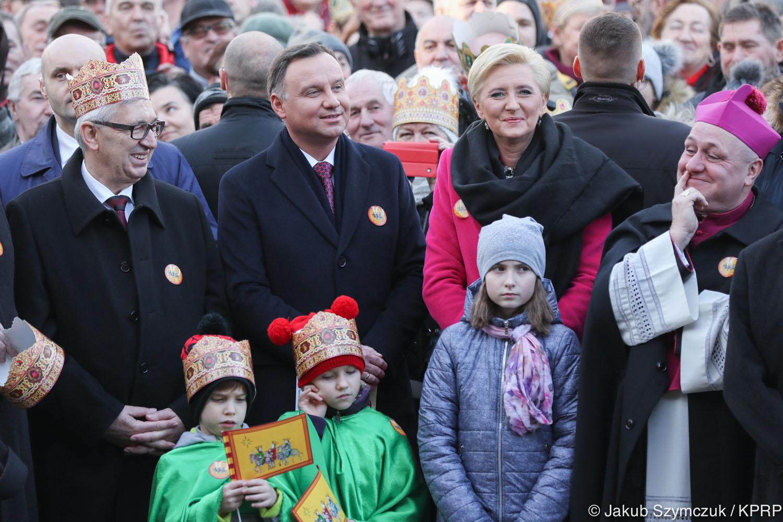 Prezydent podczas Orszaku Trzech Króli w Skoczowie: Każdy może przyjść i być między nami