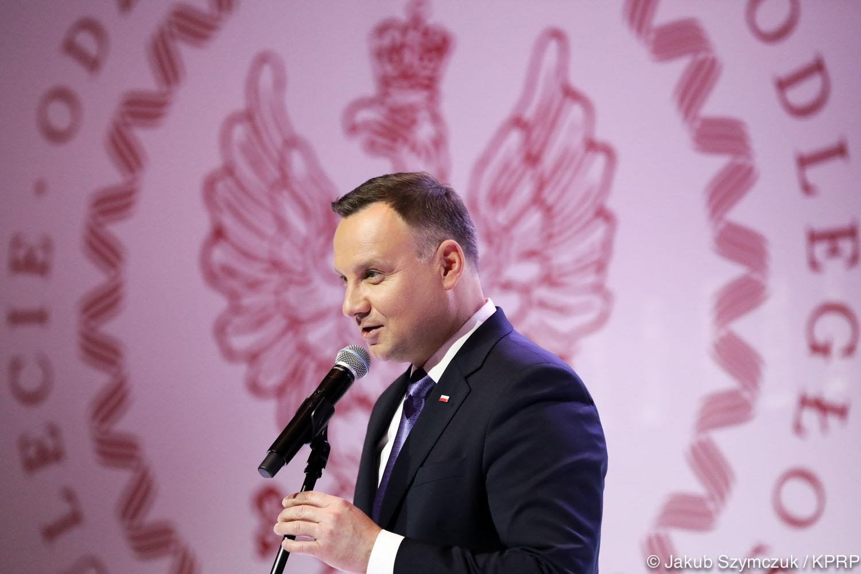 Prezydent Duda: Sukces polskiego sportowca to także sukces naszego państwa na arenie międzynarodowej.
