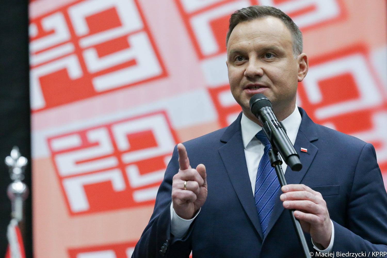 Prezydent Duda: Nigdy nie zgodzę się, aby Polska była oczerniana przez fałszywe oskarżenia