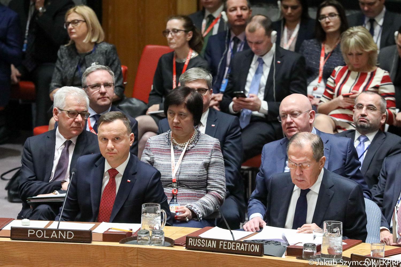 USA: Prezydent A. Duda wygłosił przemówienie przed RB ONZ