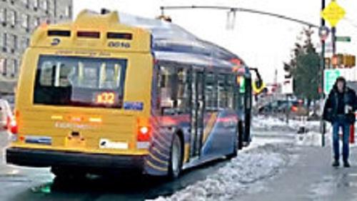 Elektryczne autobusy na nowojorskich drogach